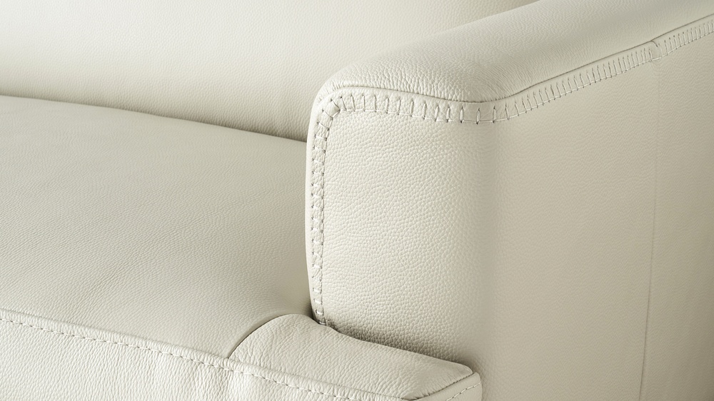 Quality stitched leather sofas