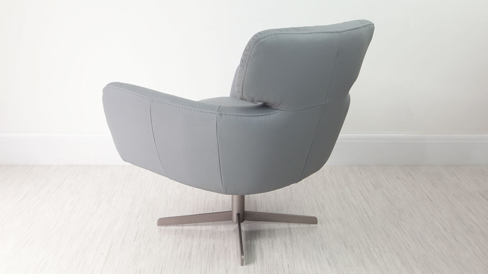 Large Grey Occasional Chair