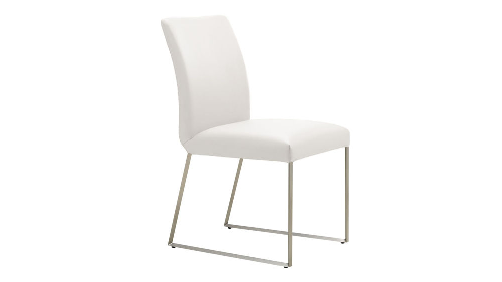 Dining Chair with Sleigh Shaped Legs