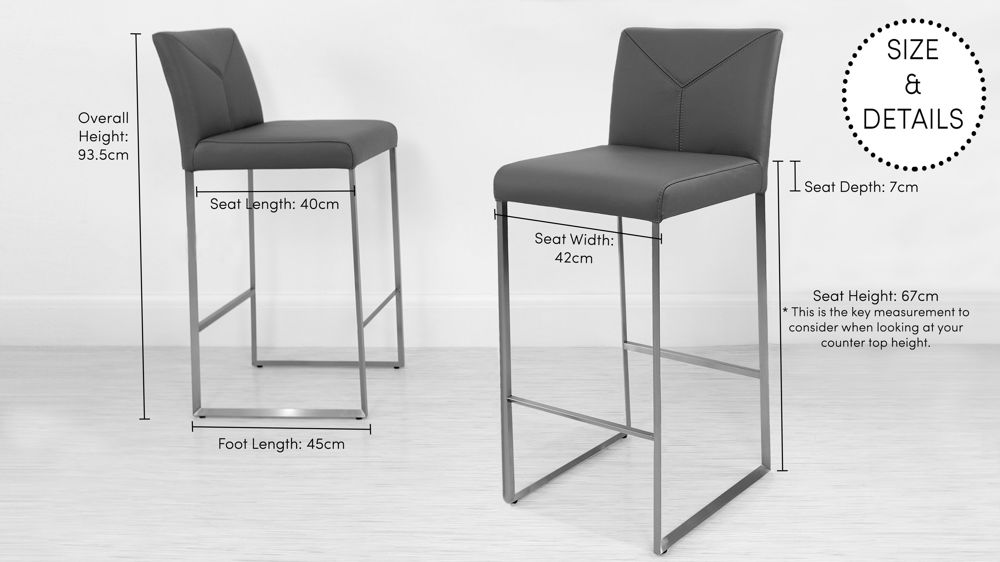 How to Find the Right Height For a Bar Stool