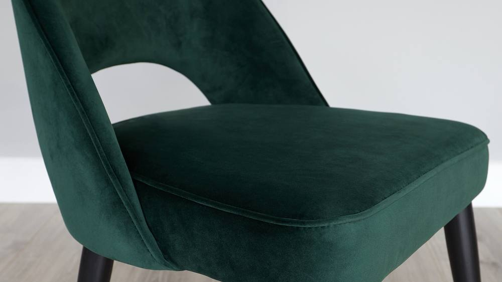 Forest green dining chair sets