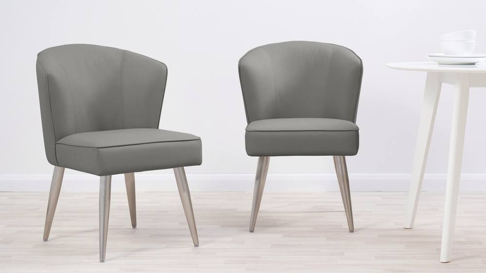 Grey dining chair sets