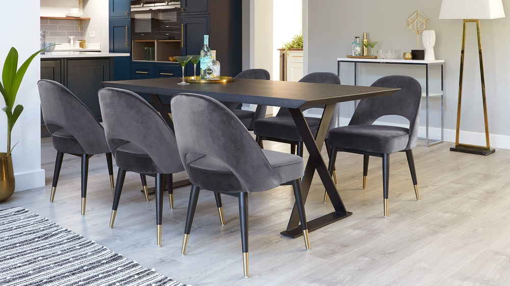 modern dark oak tables
