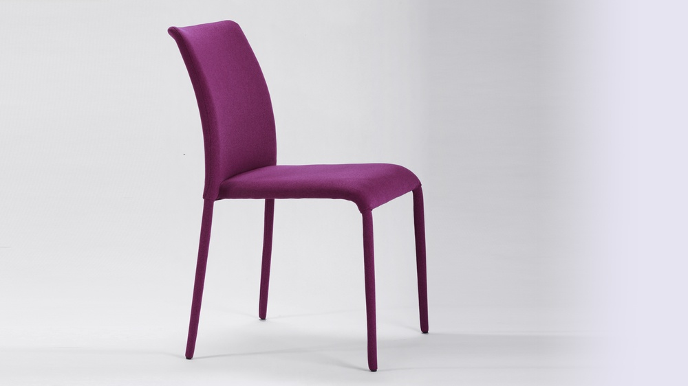 Coloured Fabric Dining Chair
