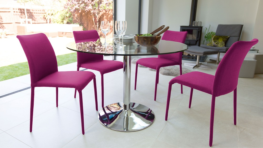 Contemporary Round Dining Set