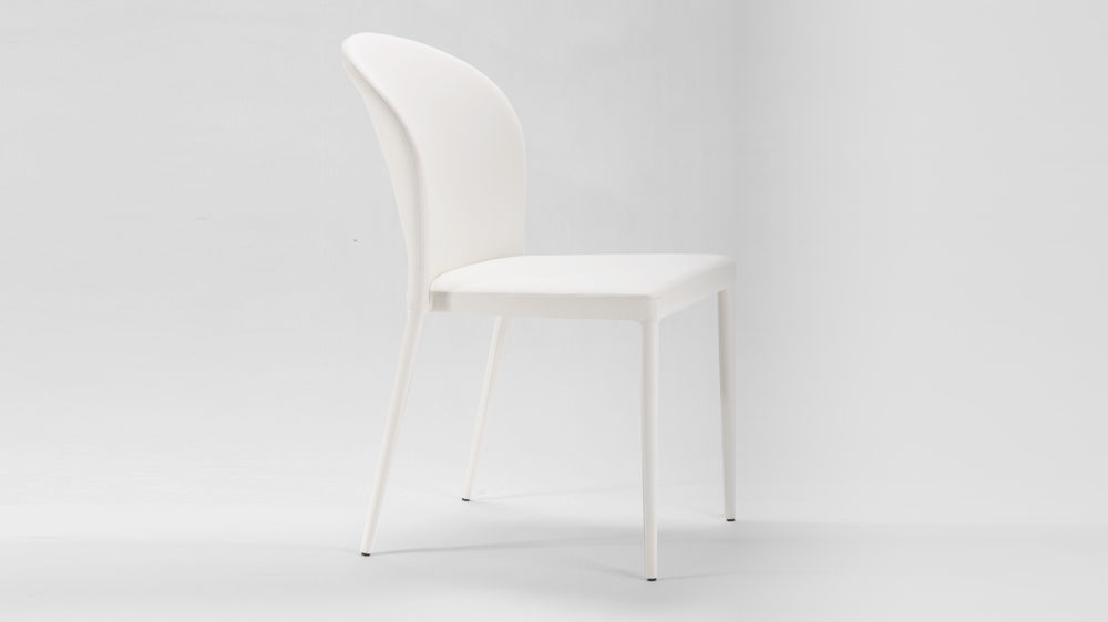 Contemporary White Dining Chair