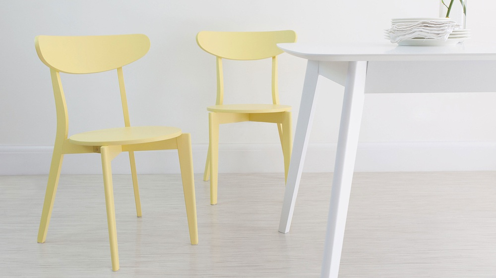 Yellow Dining chair under £50