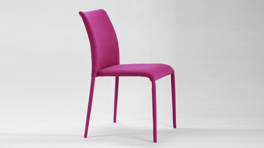 Contemporary Fabric Dining Chairs
