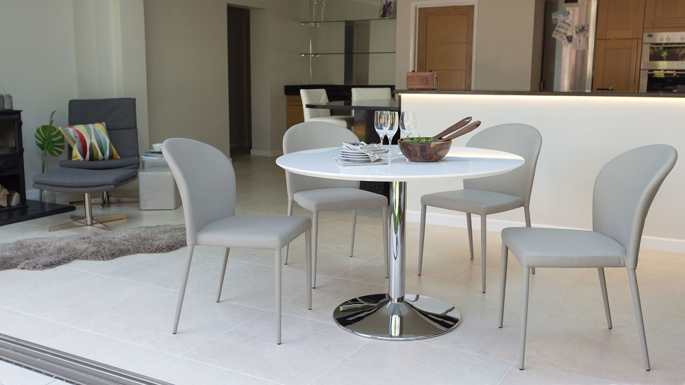 Neutral Coloured 4 Seater Dining Set