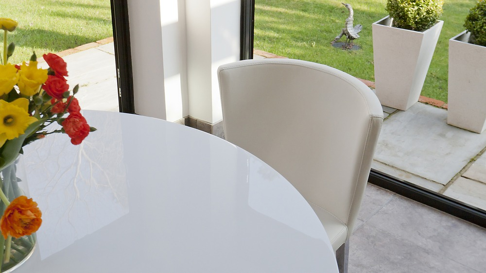 Cheap White Gloss Dining Set