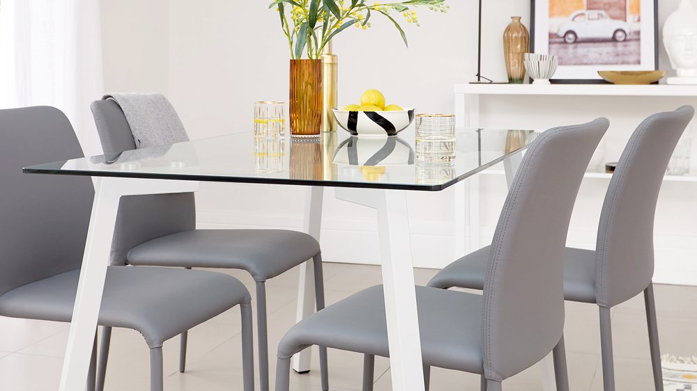 easy clean kitchen chairs