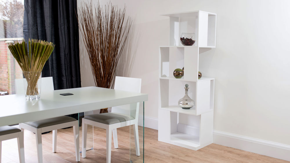 Stylish White Bookcase