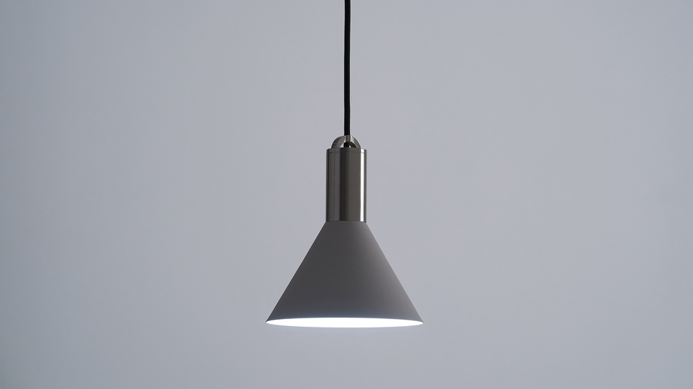 Small cone pendant lights