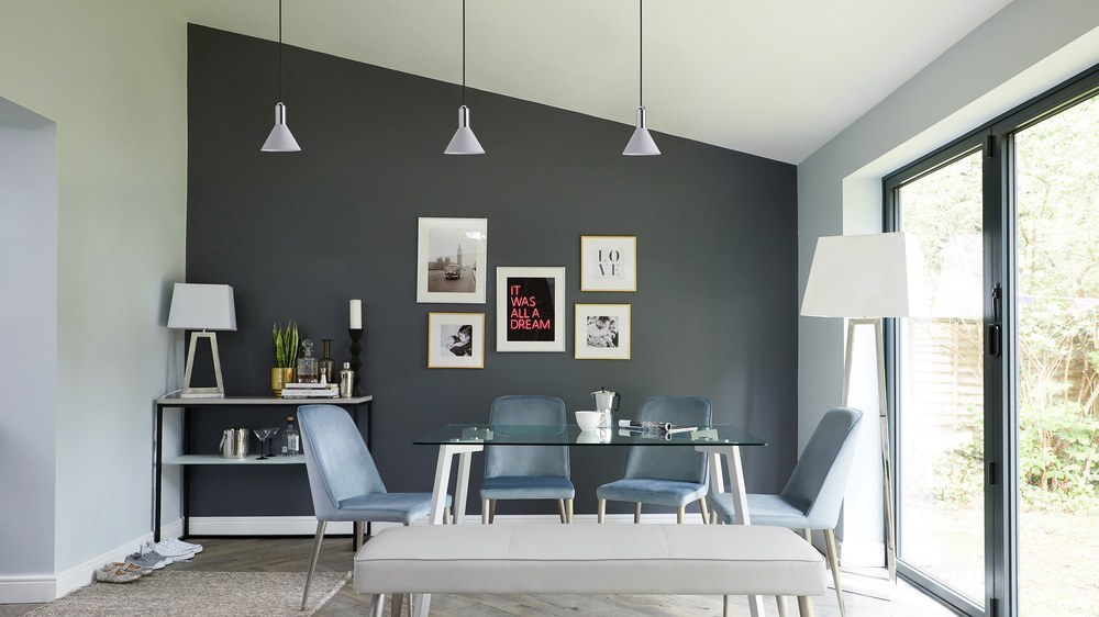 small grey pendant lamps