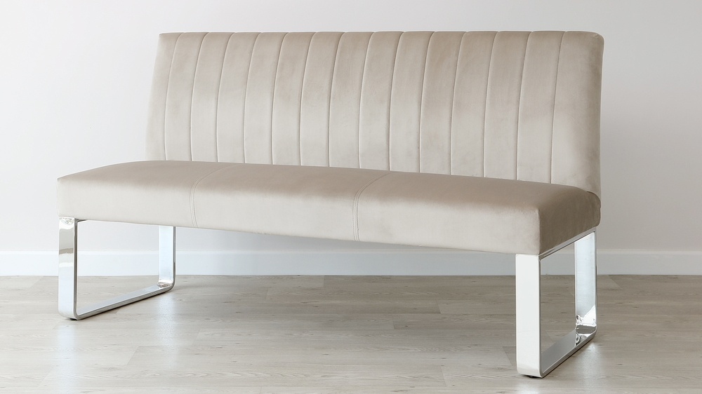 panelled bench