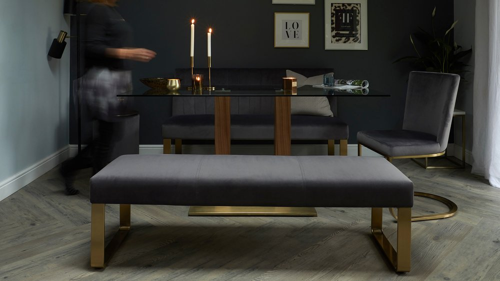 ophelia dining bench