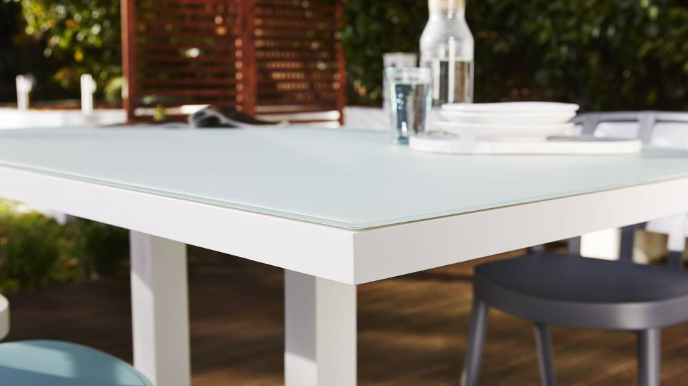 Buy modern white garden furniture