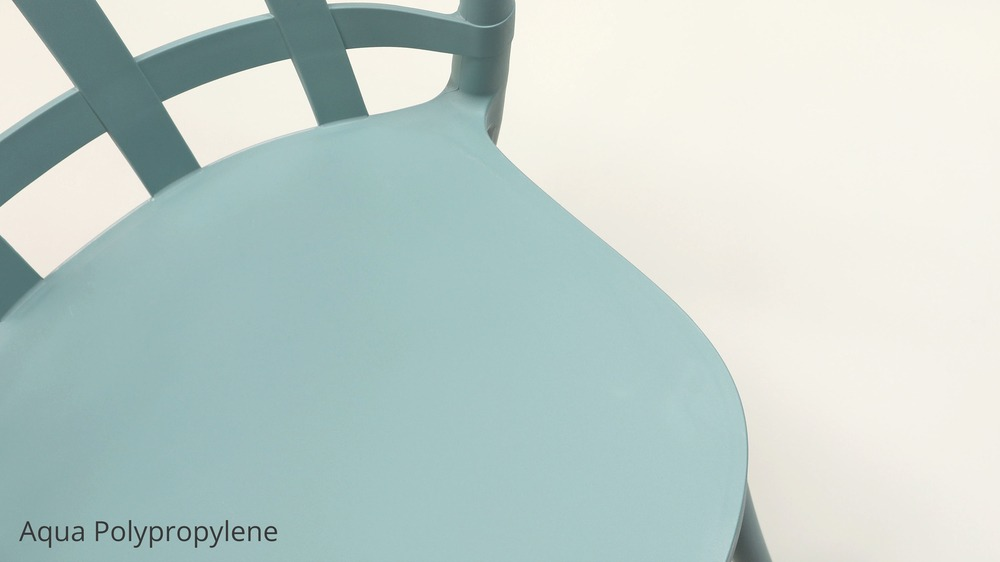 Aqua skye dining chair set