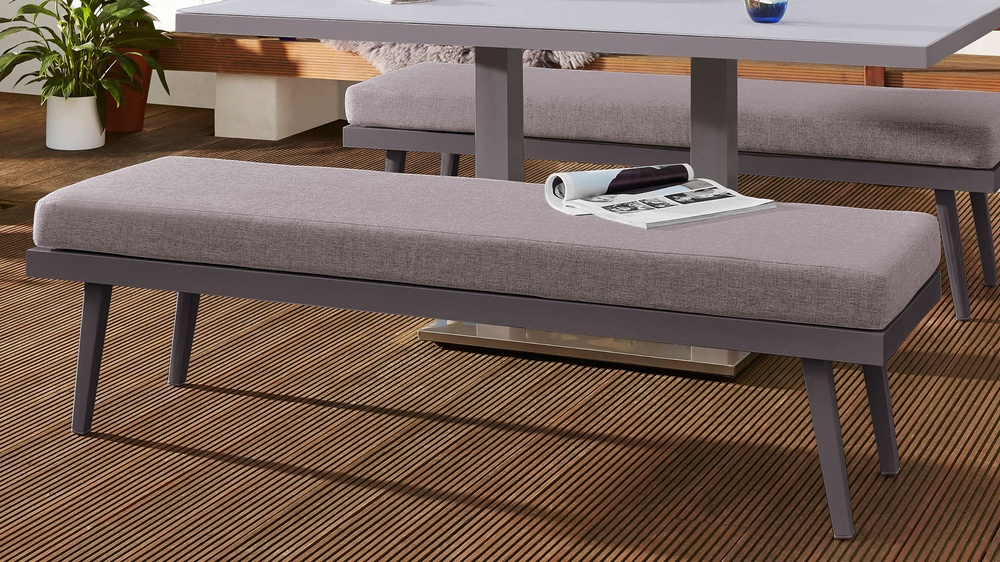 Palermo 3 Seater Outdoor Bench Danetti Uk