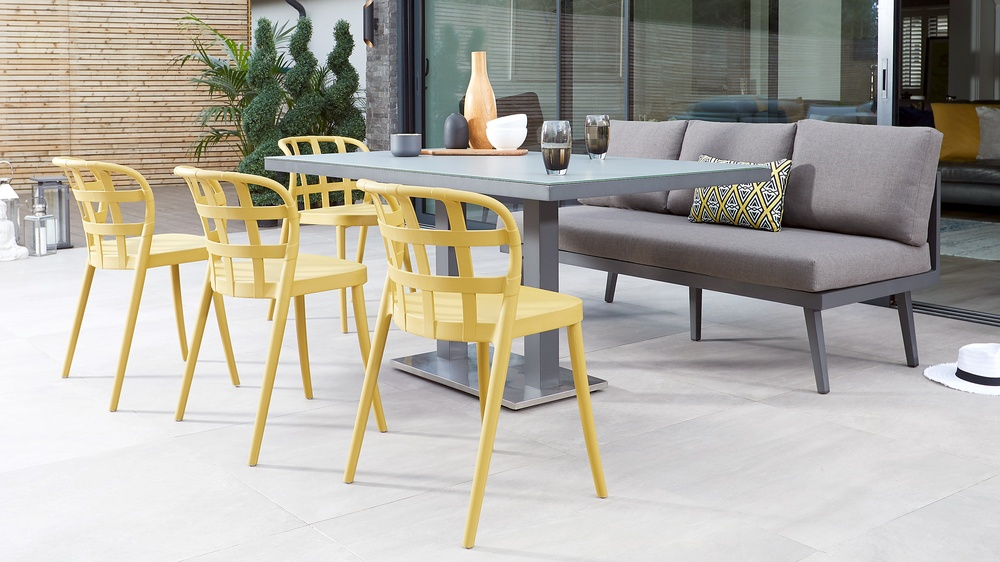 Palermo bench dining set