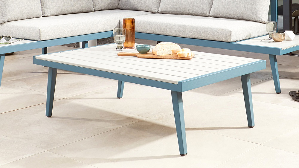 Modern garden coffee table
