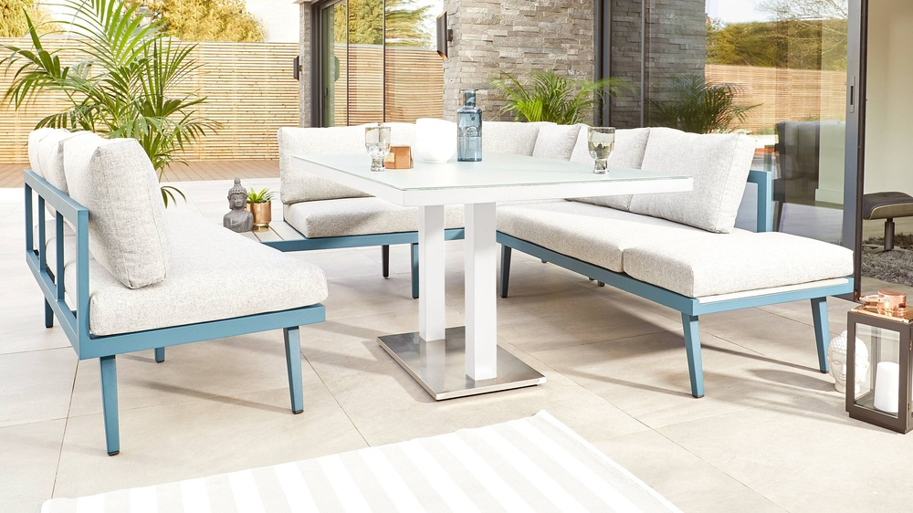 Large garden dining sets