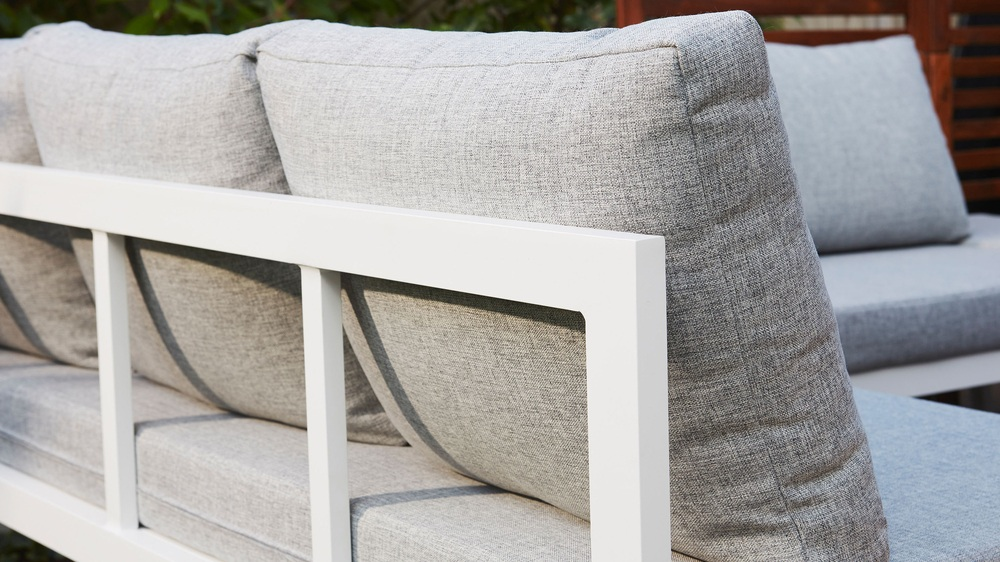Easy clean garden benches