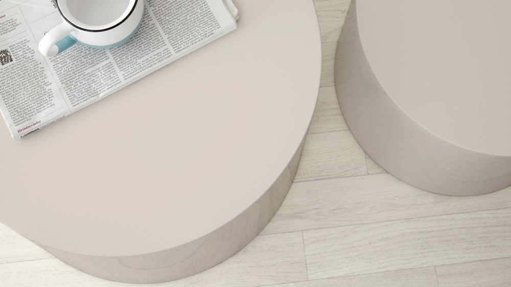 Grey Gloss Side Tables