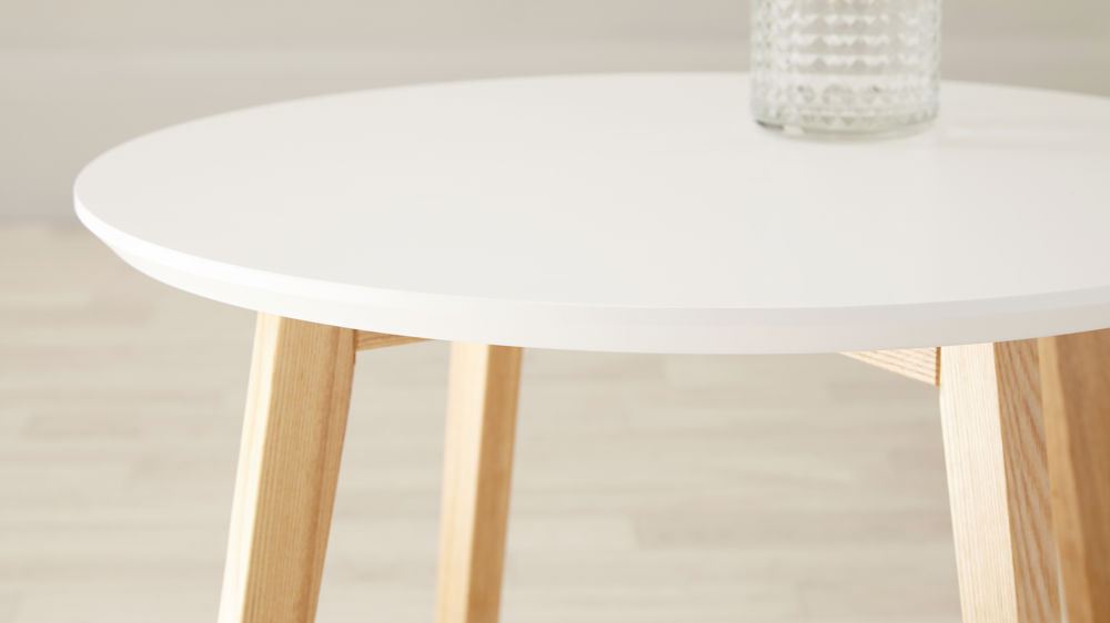 Affordable White Side Table