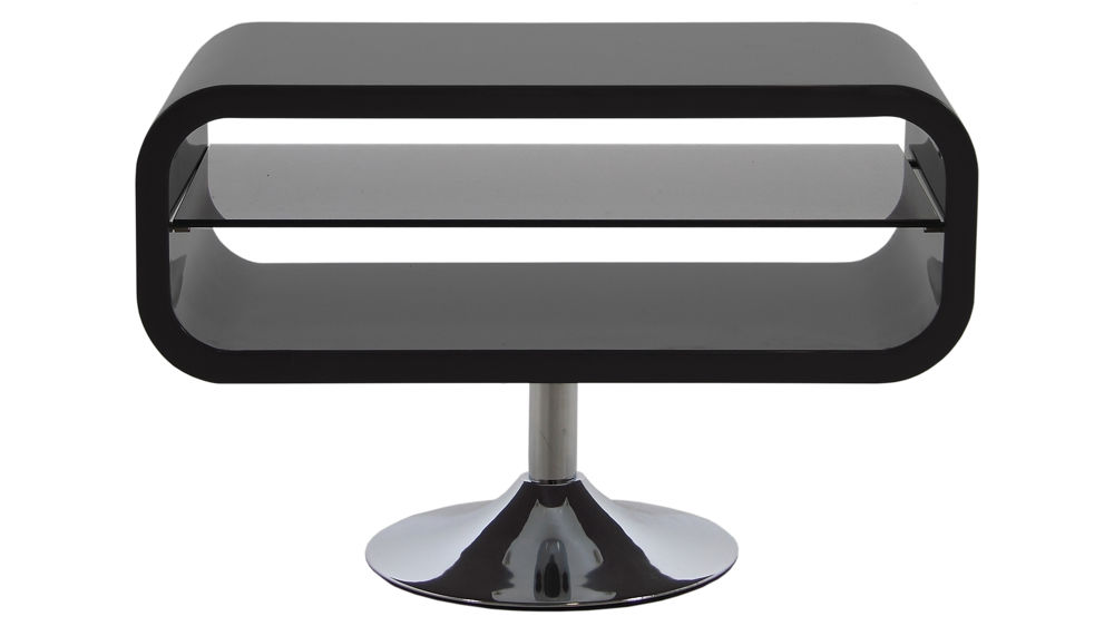 Black Gloss TV Table
