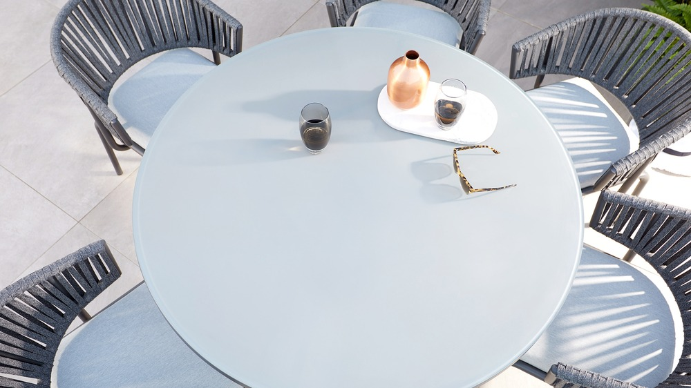 Contemporary garden dining furniture