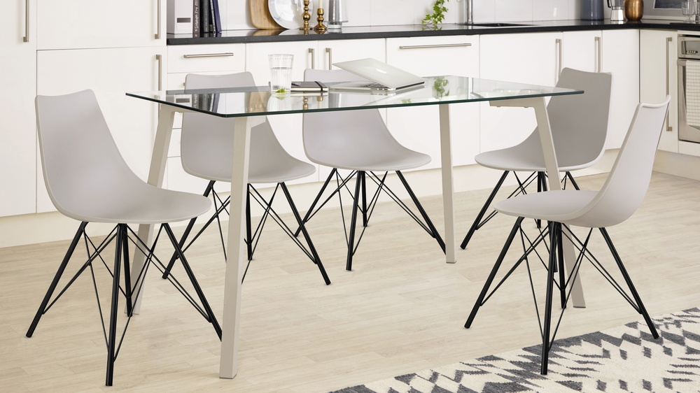 Profile and Delta Dining Set