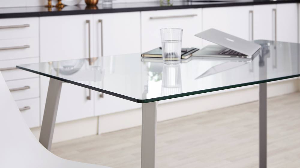 Glass Kitchen Table Set