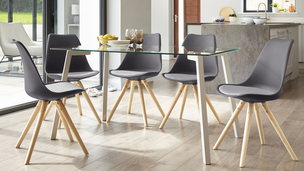 Multi tone dining chair