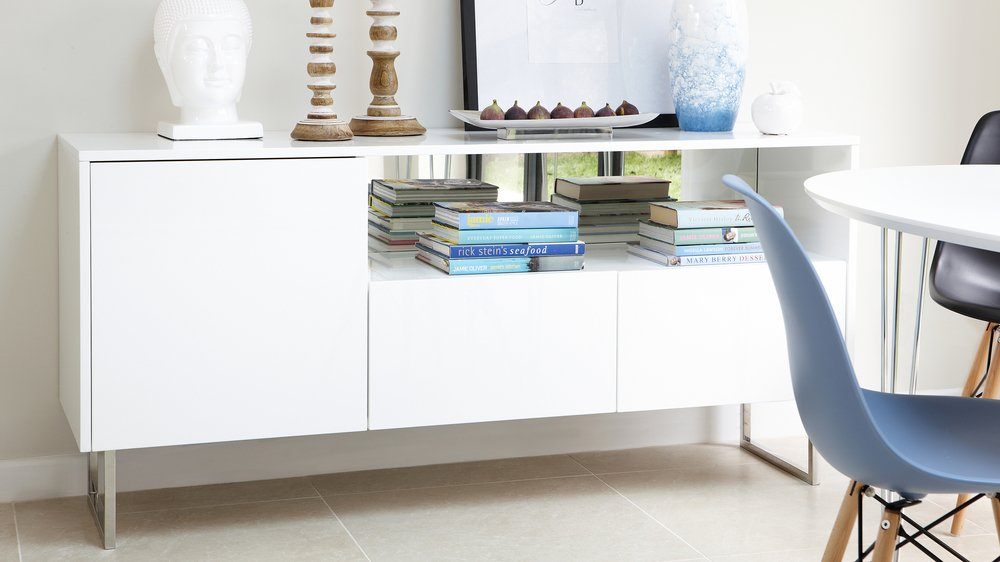 White sideboard buy heart of house westbury door drawer for White gloss sideboards at ikea