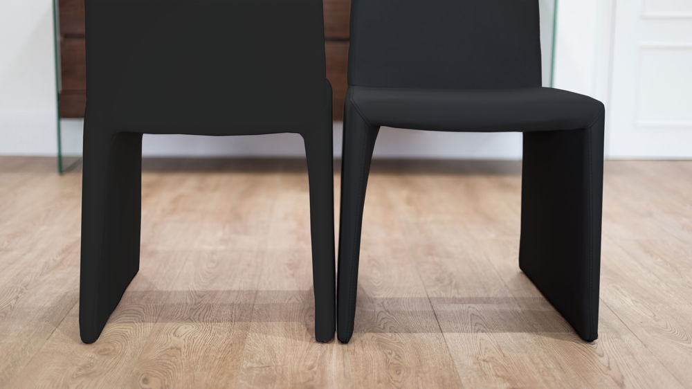 Modern Box Style Dining Chairs