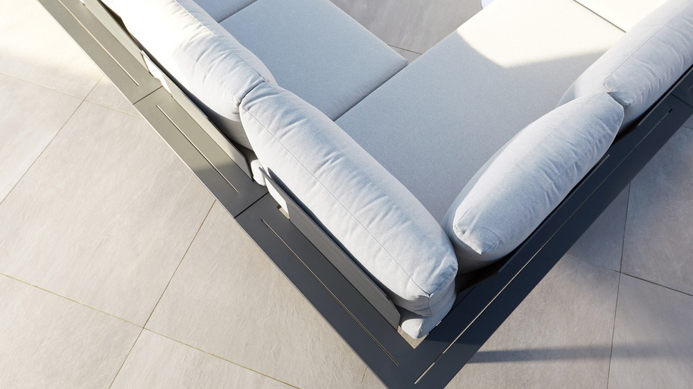 Modern garden furniture range