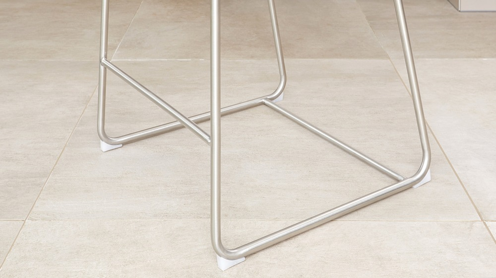 Stainless steel fabric bar stools