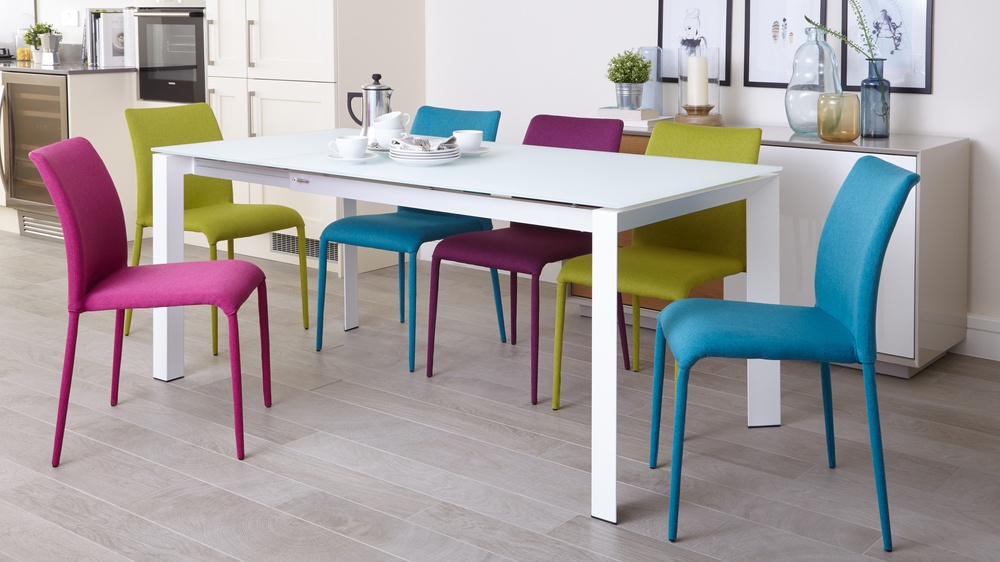 Multicoloured Extending Dining Set