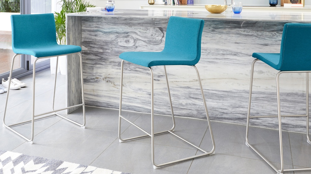 thin frame bar stool