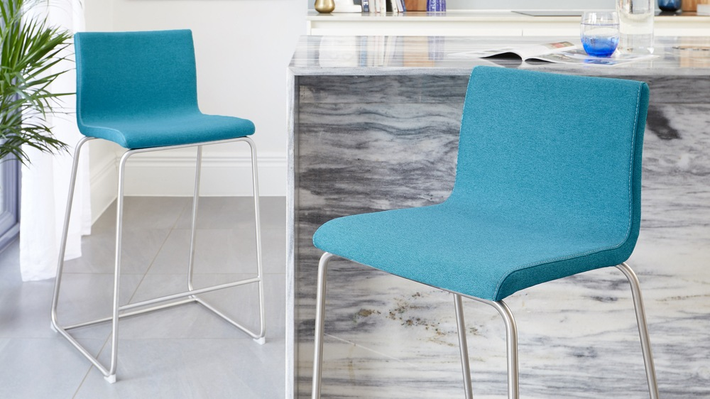 modern fabric bar stool