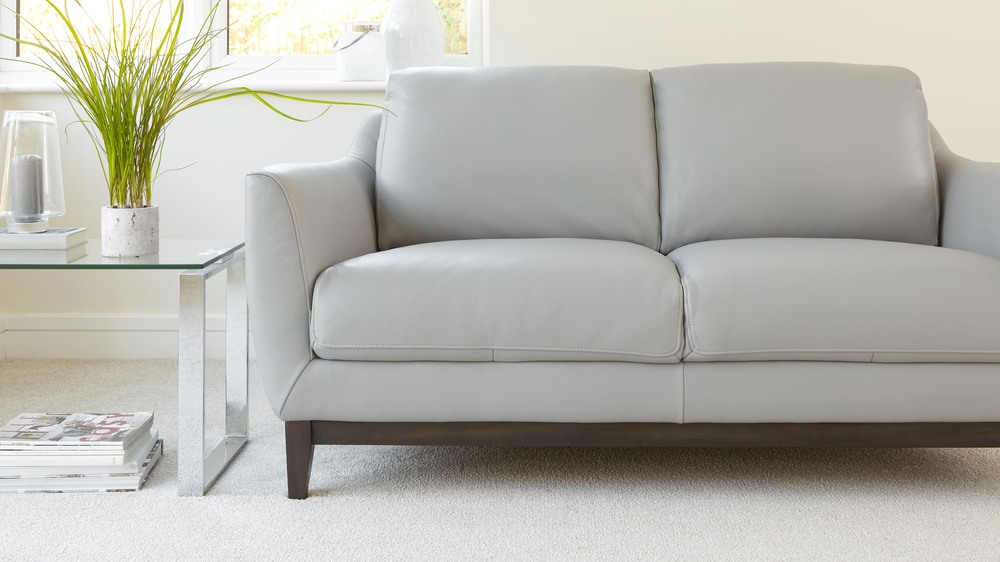 modern Leather two seater sofa