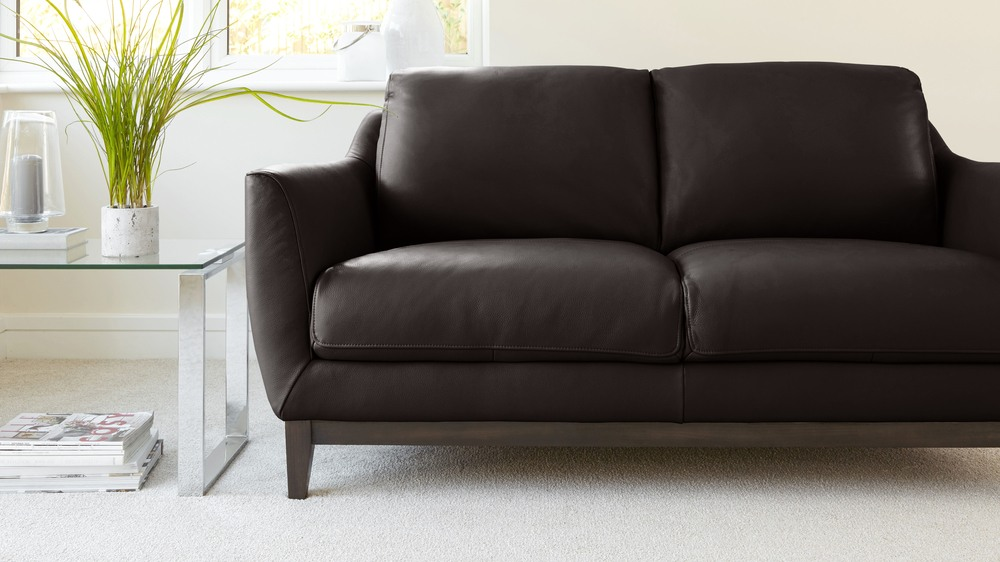 Brown Leather Robin Sofa