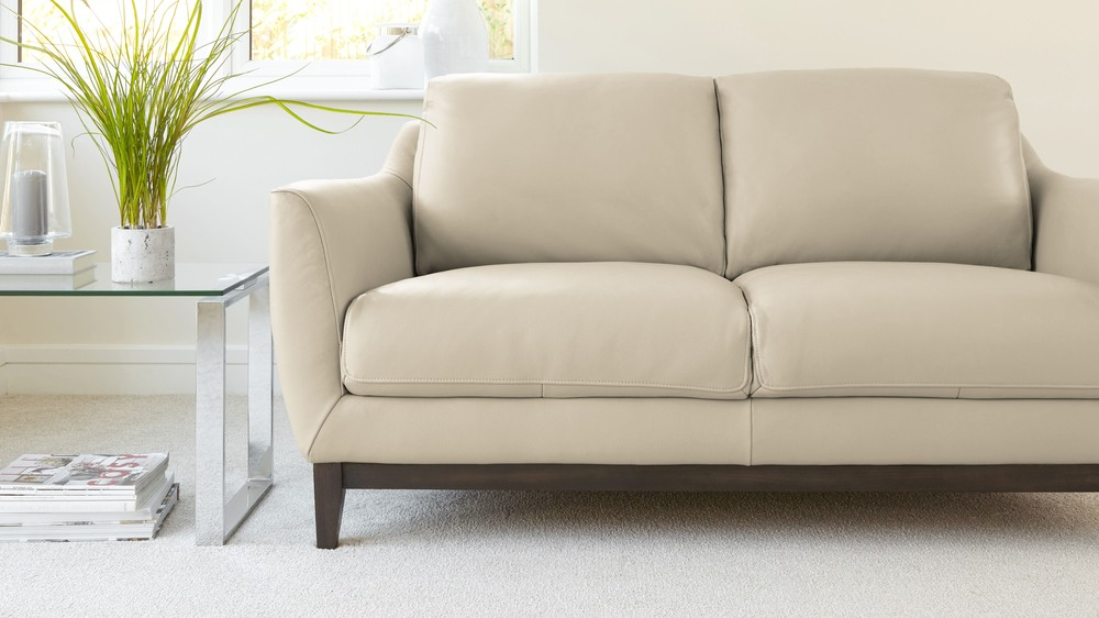 Comfortable Leather Sofa 2 Seater