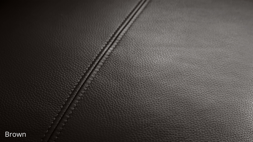 Brown Textured Leather