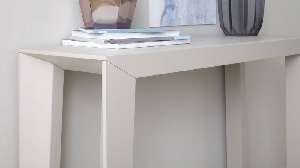Matt Grey Strong Console Table