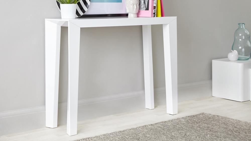 Modern White Gloss Strong Table