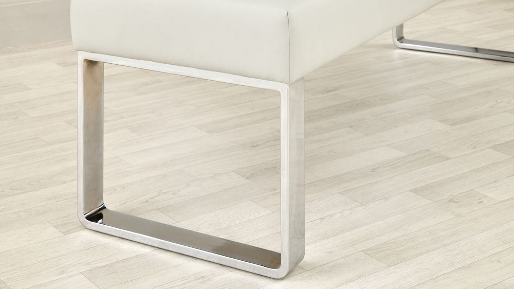Buy dining bench set with extending gloss kitchen table