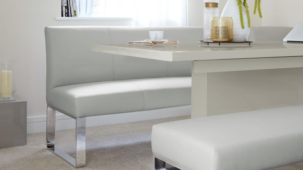 Buy modern dining bench and table