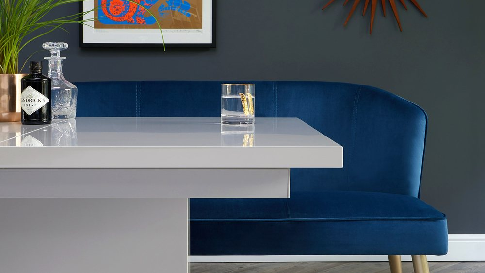 Buy luxury velvet dining furniture
